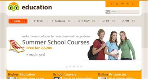 themes joomla education education jooexplorer