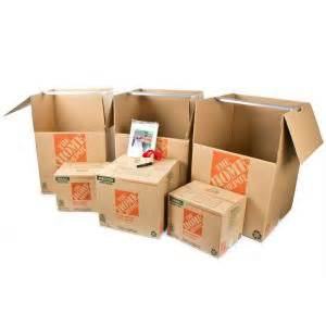 home depot cardboard boxes the home depot 6 box closet moving kit hdc1 the home depot