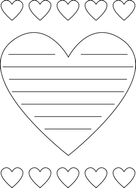 shaped writing template shaped printable paper