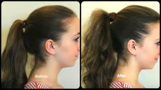 gow to make longer haircut how to get the perfect ponytail hairstyle tips cute