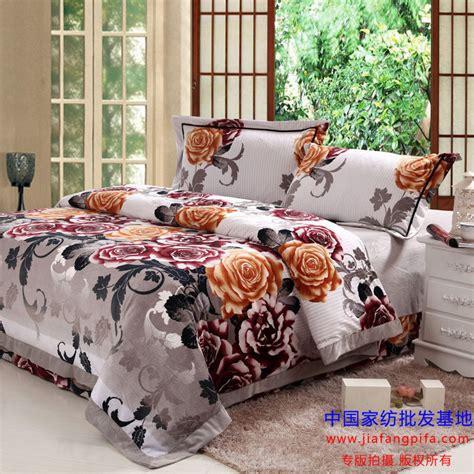 vintage floral velvet bedding comforter set queen size