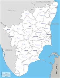 Tamilnadu Outline Map India by Tamil Nadu Free Map Free Blank Map Free Outline Map Free Base Map Boundaries Districts Names