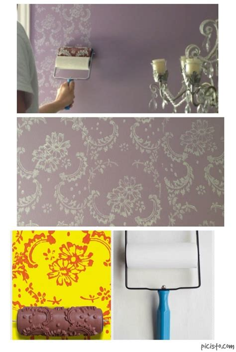 wallpaper paint roller 25 best ideas about patterned paint rollers on pinterest