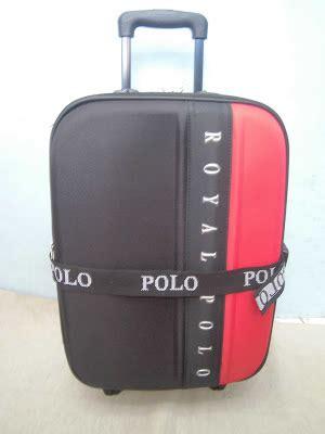 Tas Polo King 18 Inch tas koper troley bag royal polo 5418 black kabin