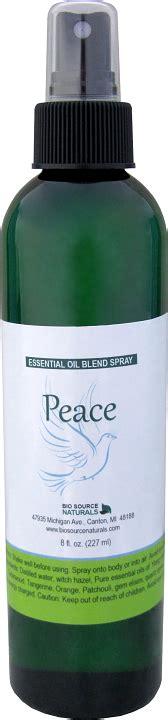 peace essential oil blend spray anxiety spray
