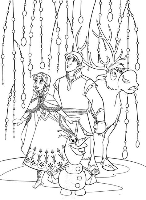 coloring pages frozen sven christmas coloring pages