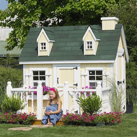 cottage playhouse cottage 4 x 6 cape cod wood playhouse www