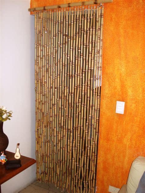 cortinas de bambu cortinas de bambu para portas disk dicas