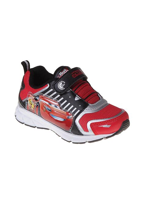 boys light up sneakers cars lightning mcqueen light up sneakers for boys