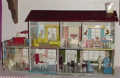 vintage metal doll houses vintage metal dollhouses on vintage dolls
