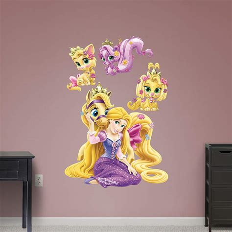 tangled wall stickers palace pets rapunzel collection wall decal shop fathead 174 for disney princesses decor