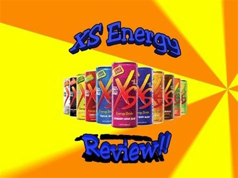 xs energy drink review xs energy drink review