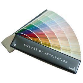 olympic  color paint fan deck  favorite paint