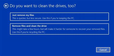 install windows 10 keep personal files only how to do a clean install of windows 10 cnet