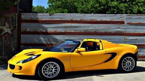 buy used lotus elise buy used 2005 lotus elise base convertible 2 door in