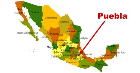 puebla mexico map how do i get to puebla mexico gt teach me mexico