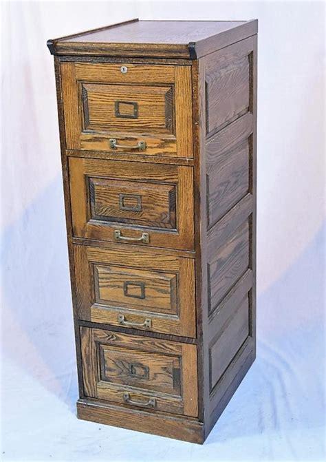 Oak File Cabinet 4 Drawer by Oak Four Drawer File Cabinet