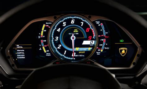 lamborghini aventador speedometer car and driver