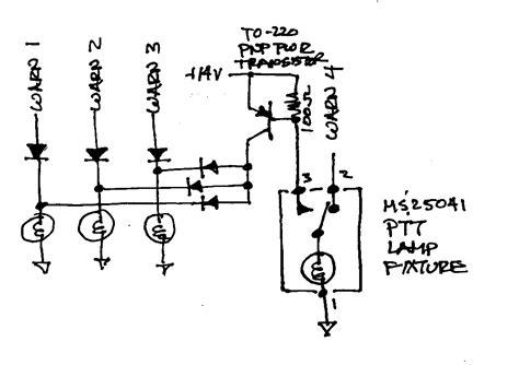 wiring diagram ptt switch