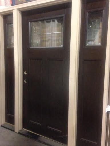 Overstock Exterior Doors Overstock Feather River Exterior Craftsman Door W Sidelights