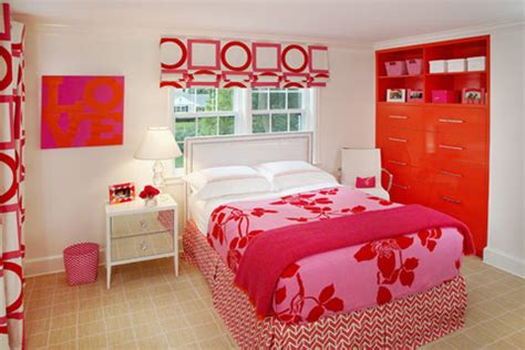 Orange And Pink Bedroom Ideas by Orange And Pink Rooms
