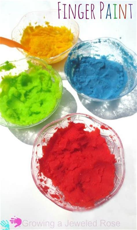 easy to make finger paint that is safe for even the tiniest tots mashed potato flakes and food