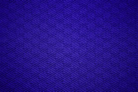 blue pattern material cobalt blue knit fabric with diamond pattern texture