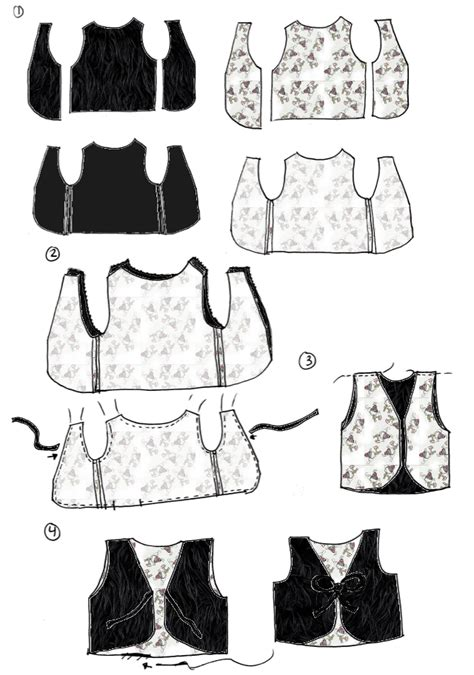 printable toddler vest pattern toddler faux fur vest tutorial a free downloadable