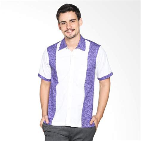 Kemeja Pria Lengan Pendek Putih Yandet jual fafa collection kemzo 008 batik lengan pendek kemeja