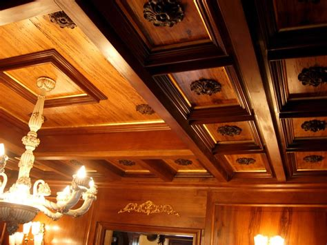 soffitti in legno a cassettoni boiserie lugano lugano arredamenti su misura