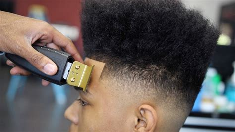 jumbo play with your hair cut on the side haircut tutorial hightop fade kid play youtube