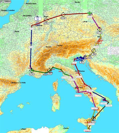 Karte Deutschland Italien by Deutschland Italien Karte