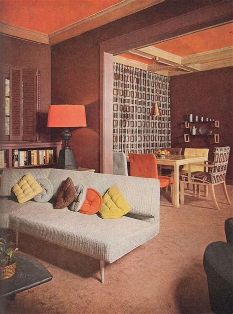 vintage mid century interiors 1953 modern bungalow living room vintage interiors from