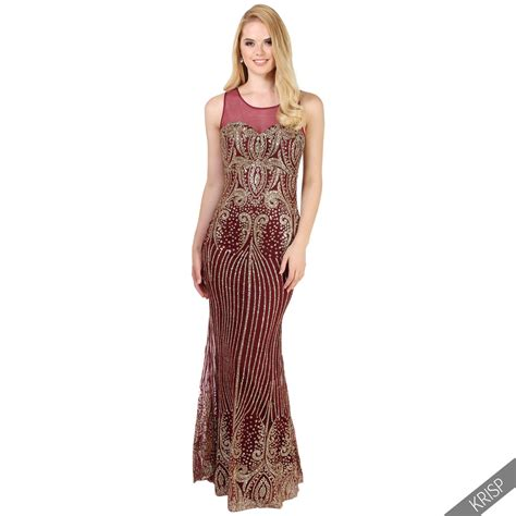 womens formal prom maxi dress evening gown bridesmaid size 8 20 ebay