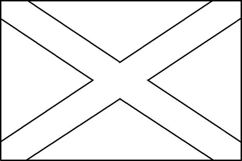 coloring picture of scotland flag fiar wee gillis