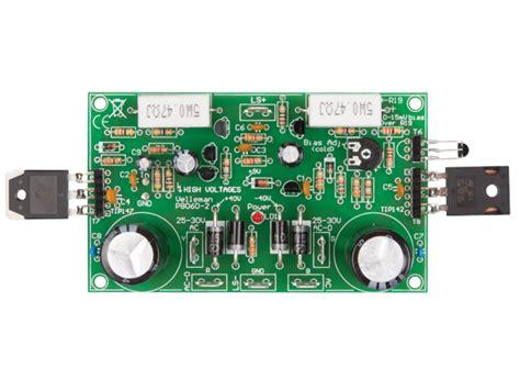 velleman kits  discrete power amplifier
