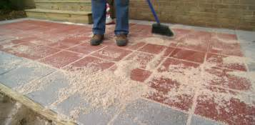 How To Install Pavers For A Patio Kabel Data Ilang Painted Pavers