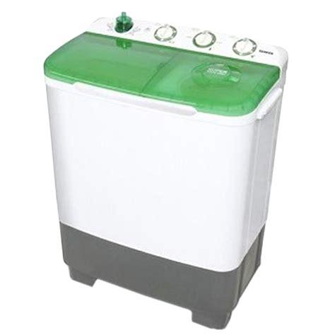 Mesin Cuci Otomatis Sanken sanken mesin cuci 2 tabung 7 kg tw 8700 gr hijau free