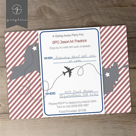 moving going away party invitations or announcements on