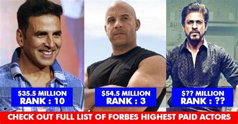 forbes released list of highest paid actors 2017 3 indians in top 10 rvcj media