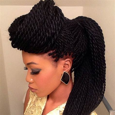hair styles to cover 29 senegalese twist hairstyles for black women stayglam