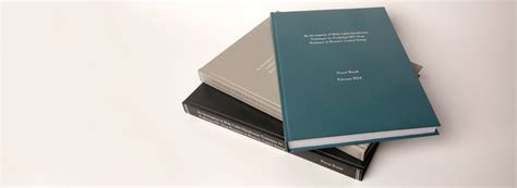 hardback dissertation binding thesis your one stop service for printing