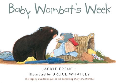 wombat picture book baby wombat s week better reading