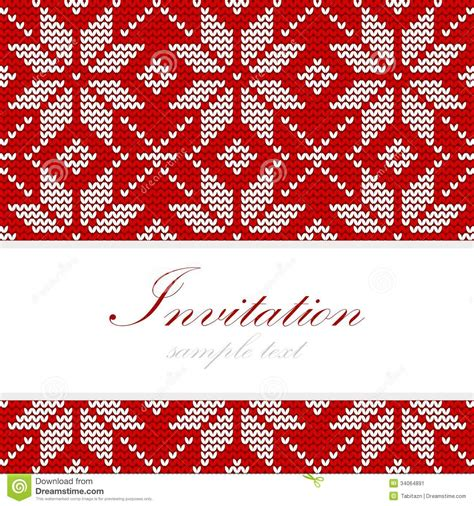 pattern christmas card winter knitted christmas card nordic pattern background