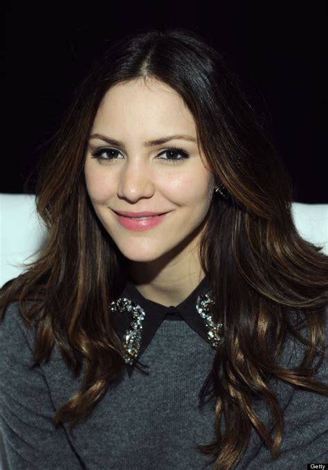 older actresses with dark hair katharine mcphee s new hair actress makes a dramatic