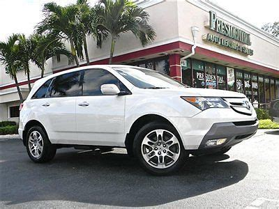 2008 acura mdx for sale by owner sell used 2008 acura mdx sh awd tech package navigation