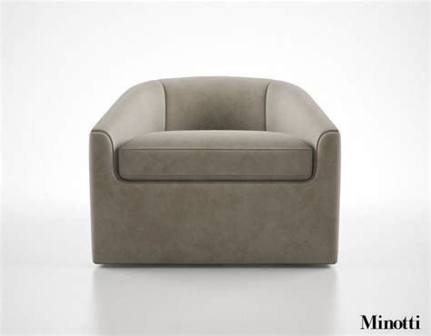 Armchair To 5k by Minotti Quinn Armchair 3d Model Max Obj Fbx Cgtrader