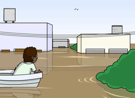 imagenes animadas de inundaciones quiero aprender