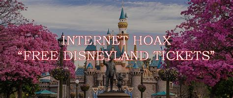 Cruise Giveaway Scams - internet hoaxes free disney land tickets and disney family cruise giveaways