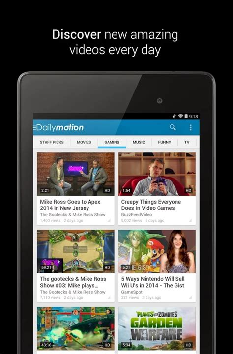 dailymotion apk dailymotion 4 3 1 4304 apk free for android free apk files